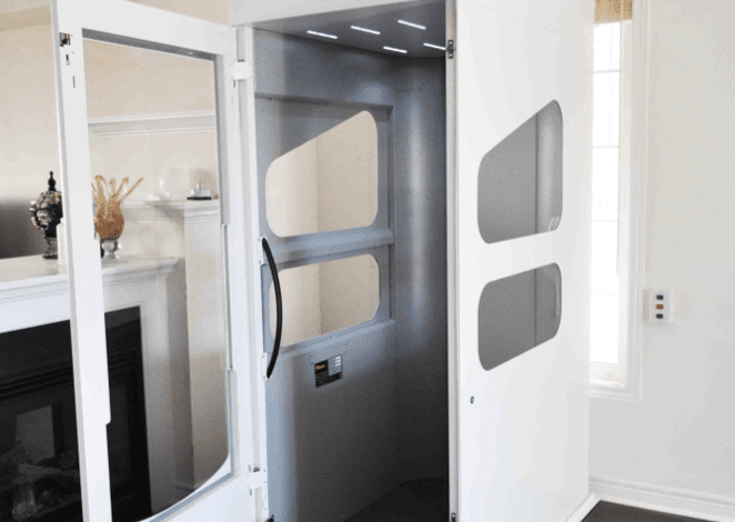 enclosed home elevators